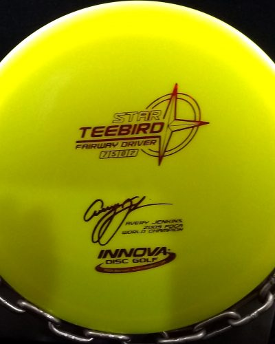 Innova Avery Jenkins 2009 Pro World Champion Star TEEBIRD Golf Disc