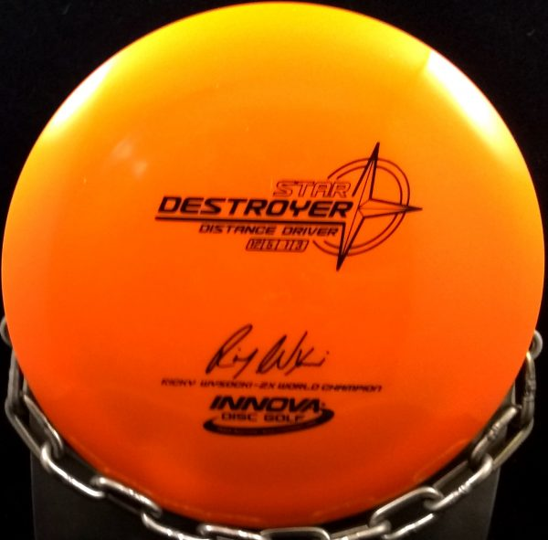 Innova Ricky Wysocki 2 Time World Champion Star DESTROYER Golf Disc