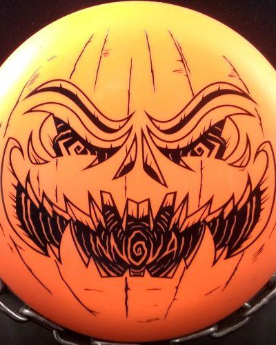 Innova DX Aviar Golf Disc Halloween Pumpkin