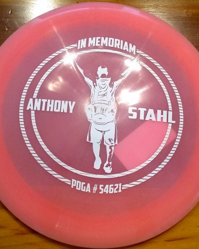 Innova Color Glow ' Anthony Stahl ' Champion DESTROYER Golf Disc
