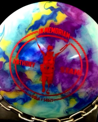 Innova Anthony Stahl Champion THUNDERBIRD Tripps Fly Dye Golf Disc,