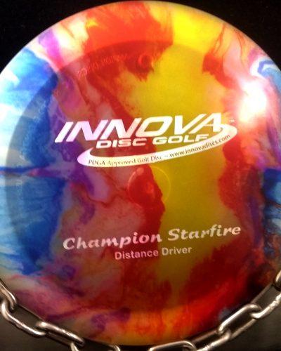 Pre Flight Numbers (PFN) Innova Champion STARFIRE Golf Disc