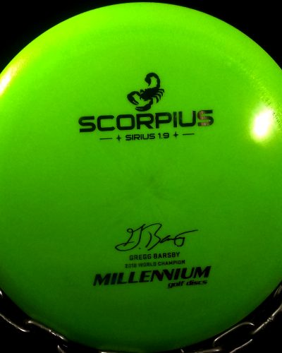 Gregg Barsby 2018 World Champion Millennium Sirius SCORPIUS