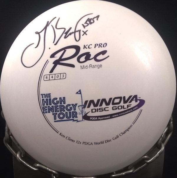 Barsby high energy tour Innova Ken Climo 12 Time World Champion KC Pro ROC Golf Disc barsby high energy