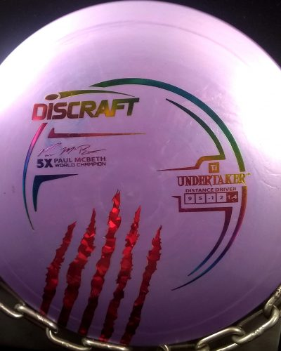 Discraft Paul McBeth 5X World Champion TI UNDERTAKER