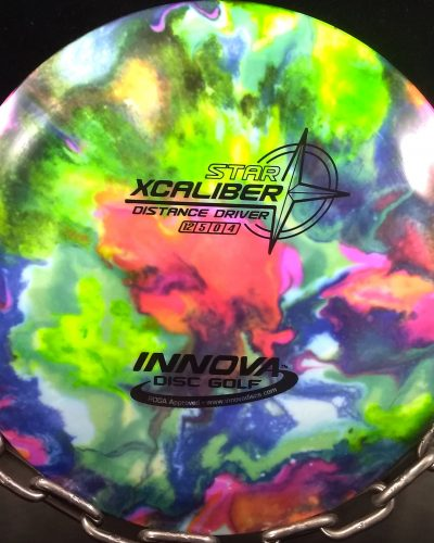 Innova Star XCALIBER Tripps Fly Dye Golf Disc