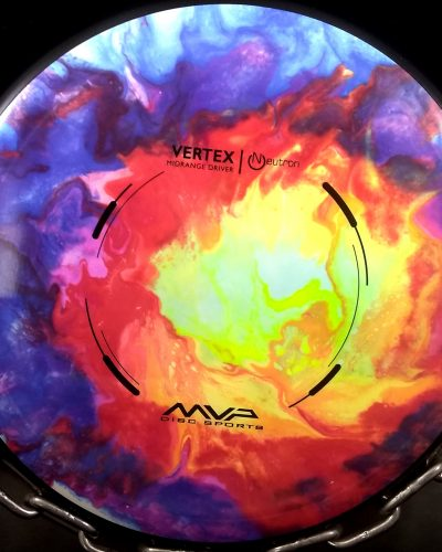 MVP (Discs) Neutron (Plastic Type) Tripps Fly Dye VERTEX Golf Disc