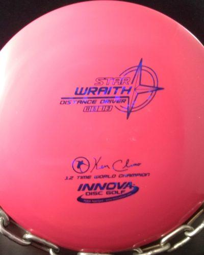 Innova Ken Climo 12 Time World Champion Star WRAITH Golf Disc