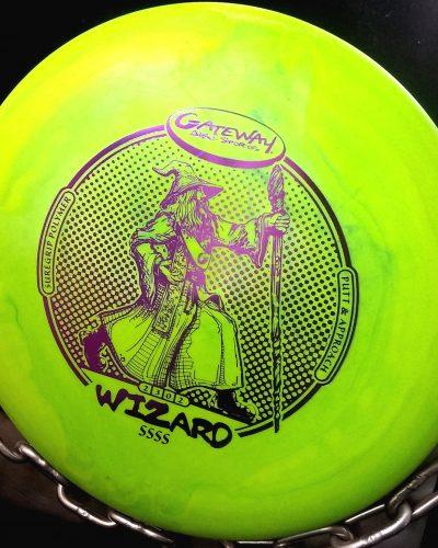 Gateway 4S Flex WIZARD Golf Disc