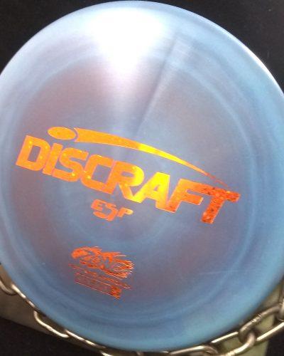 Discraft Swirly ESP ZONE Golf Disc