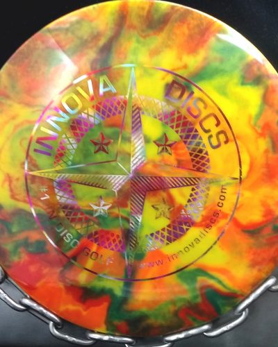 Innova 1st Run Star INVICTUS Tripps Fly Dye Golf Disc
