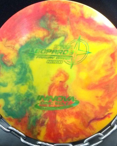 Innova Tripps Fly Dye Star LEOPARD 3 Golf Disc