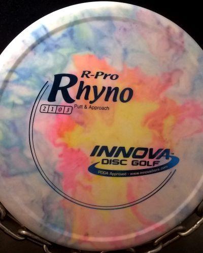 Innova Tripps Fly Dye R-Pro RHYNO Golf Disc
