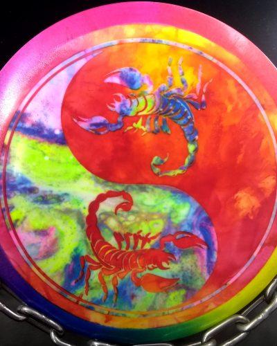 Gregg Barsby Scorpius Fly Dye Golf Disc Millenium Tripps Scorpion