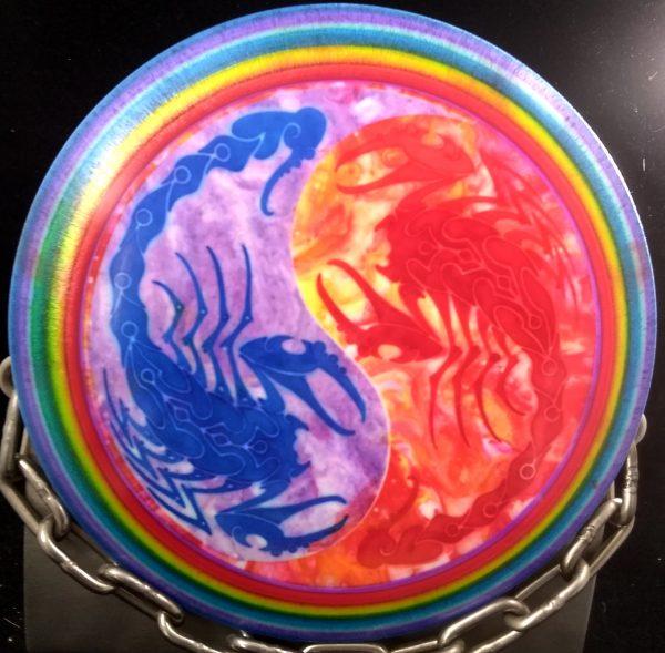 Gregg Barsby 2018 World Champion Millennium Bottom Stamp Tripps Fly Dye Sirius SCORPIUS Golf Disc