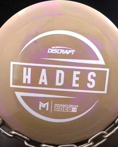 Paul McBeth ESP Discraft Hades golf disc