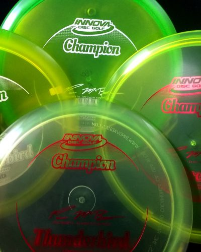 Paul McBeth 1 thru 4 Time World Champion Innova Golf Disc Set