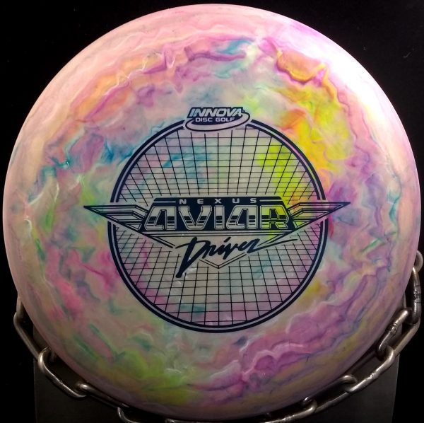 Innova Swirly Nexus Big Bead Aviar Golf Disc
