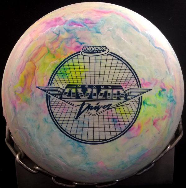 Innova Swirly Nexus Big Bead Aviar Golf Disc