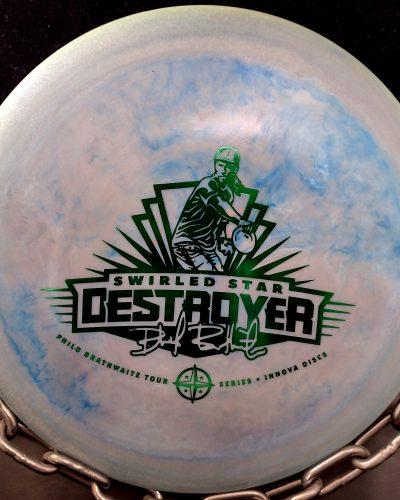 Innova Philo Braithwaite Swirled Star DESTROYER Golf Disc Driver
