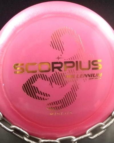 Millennium Limited Edition Quantum SCORPIUS Golf Disc 1