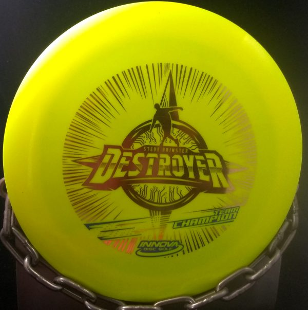 Innova Team Champion Steve Brinster Star DESTROYER Golf Disc