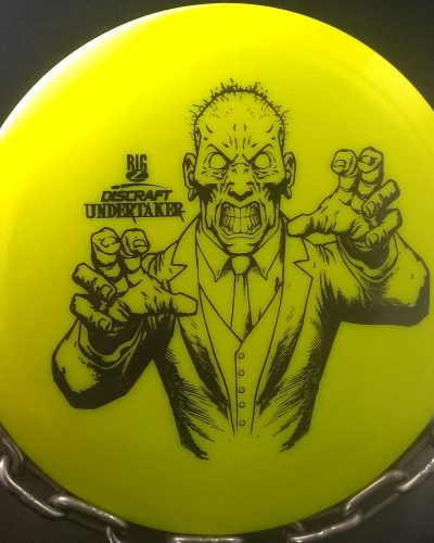 discraft big z undertaker golf disc