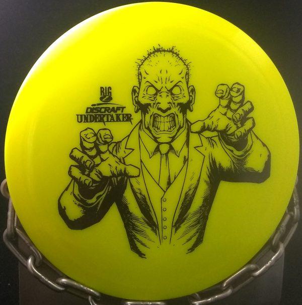 discraft big z undertaker golf disc