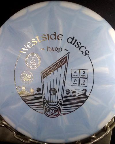 Westside Discs BT Hard Burst HARP Golf Disc