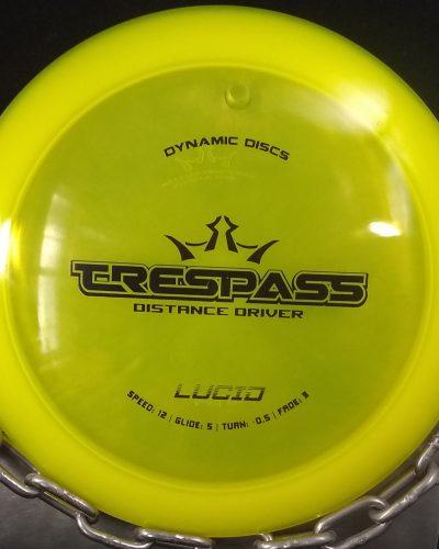 Dynamic Discs Lucid TRESPASS Golf Disc Driver