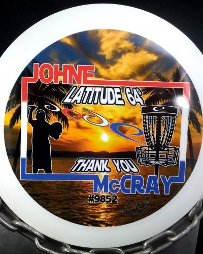 Latitude 64 Johne McCray TRIDENT Golf Disc
