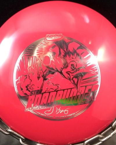 Innova Gregg Barsby Star ROAD RUNNER Golf Disc with bottom stamp
