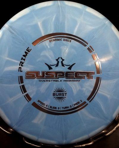 Dynamic Discs Prime Burst SUSPECT Golf Disc