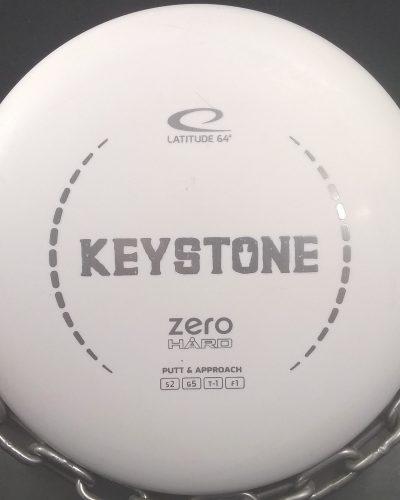 Latitude 64 Zero Hard KEYSTONE Golf Disc