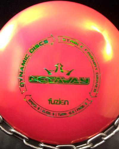 Dynamic Discs Fuzion GETAWAY Golf Disc Fairway Driver