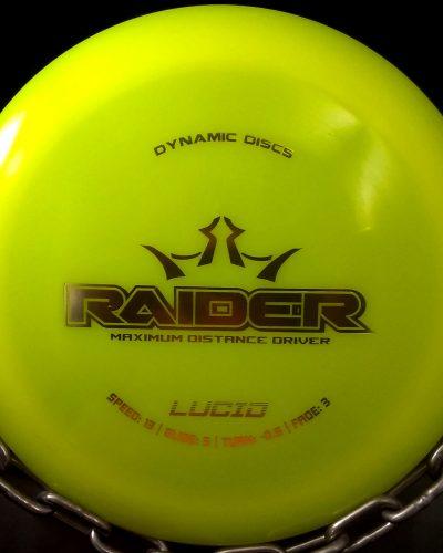 Dynamic Discs Lucid RAIDER Golf Disc Driver