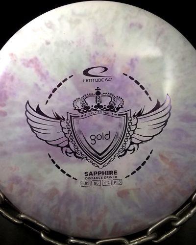 Latitude 64 Gold Tripps Fly Dye SAPPHIRE Golf Disc Driver