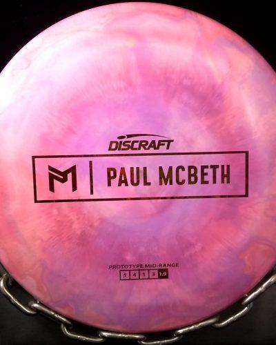 Discraft Proto Paul McBeth Tripps Fly Dye MALTA Golf Disc