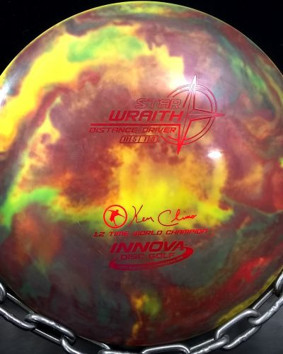 Innova Ken Climo 12 Time World Champion Tripps Fly Dye Star WRAITH Golf Disc