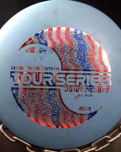 Discraft 2021 Ledgestone Tour Series Jawbreaker METEOR Mid Range Golf Disc