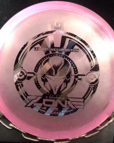 Discraft 2021 Ledgestone Edition Z Sparkle ZONE Disc Golf Putter