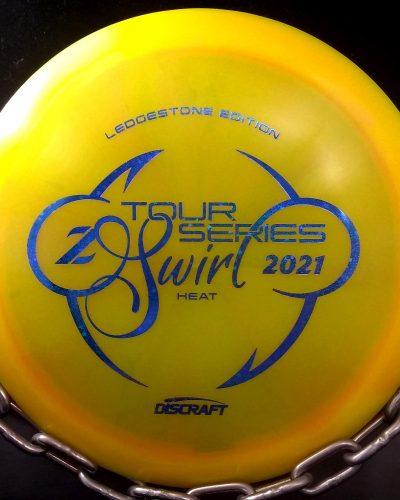 Discraft 2021 Ledgestone Edition Z Swirl HEAT Golf Disc Driver