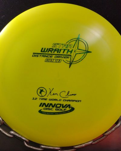 Innova Ken Climo 12 Time World Champion Star WRAITH Golf Disc Driver