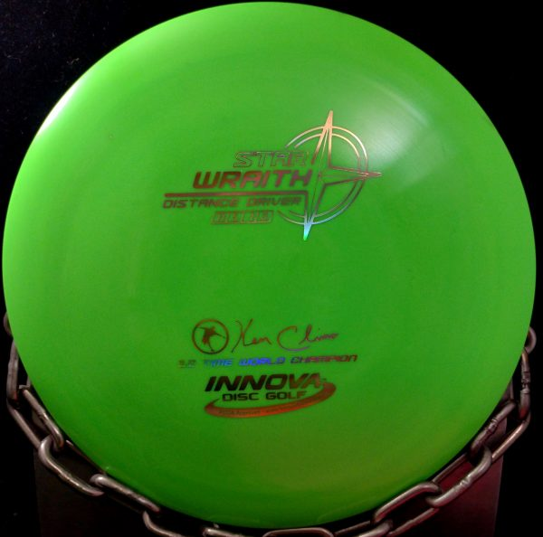Innova Ken Climo 12 Time World Champion Star WRAITH Golf Disc Driver