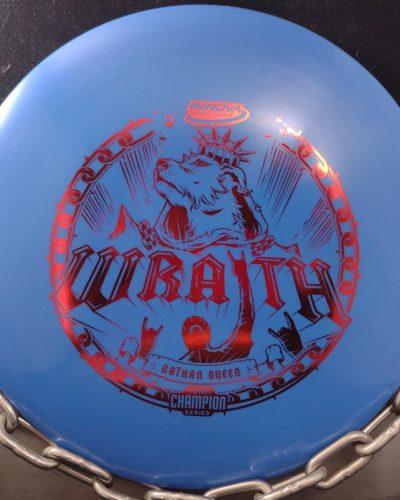 Innova 2021 Nathan Queen Team Champion Series Star WRAITH Golf Disc Driver