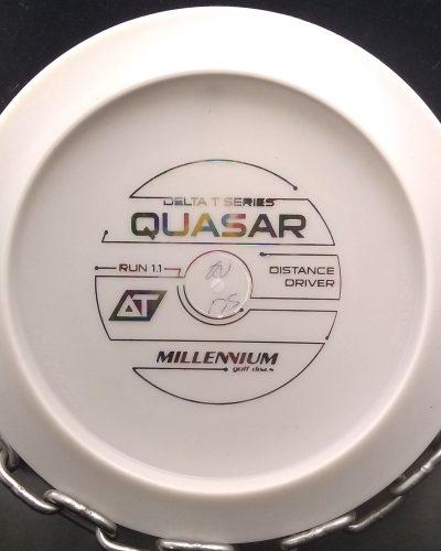 Millennium Bottom Stamp AT QUASAR Golf Disc Driver