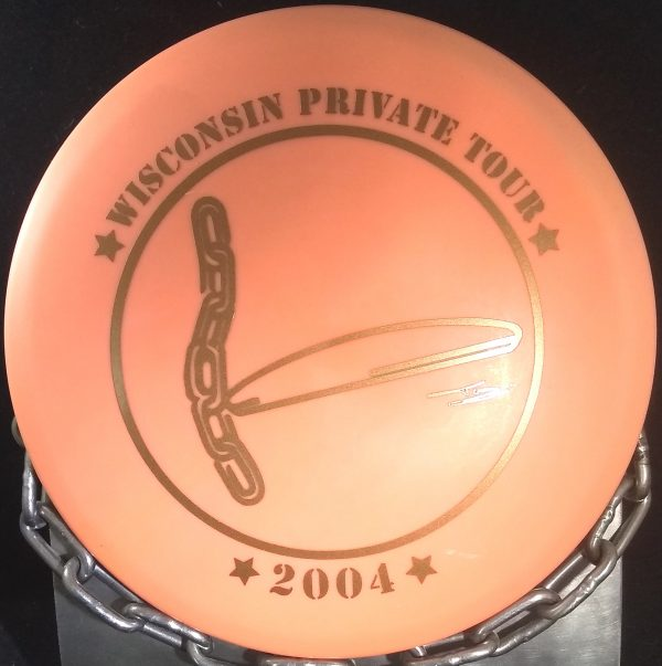 2004 Wisconsin Private Tour DX Rancho ROC Mid Range Golf Disc