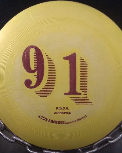 Whamo 91 Mold Frisbee Golf Disc Putter