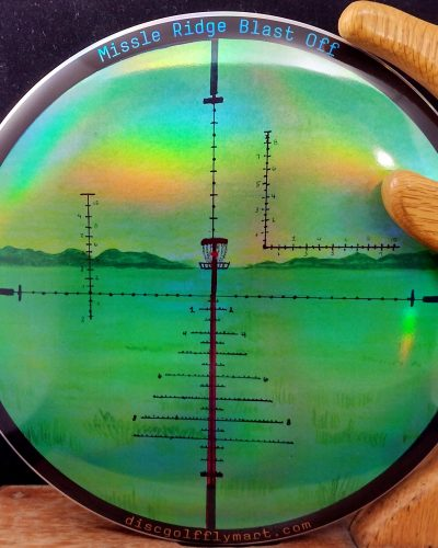 Discraft Full Foil Missile Ridge Blast Off 2021 ESP BUZZZ Mid Range Golf Disc