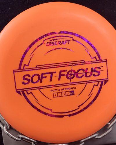 Discraft Putter Line SOFT FOCUS Golf Disc
